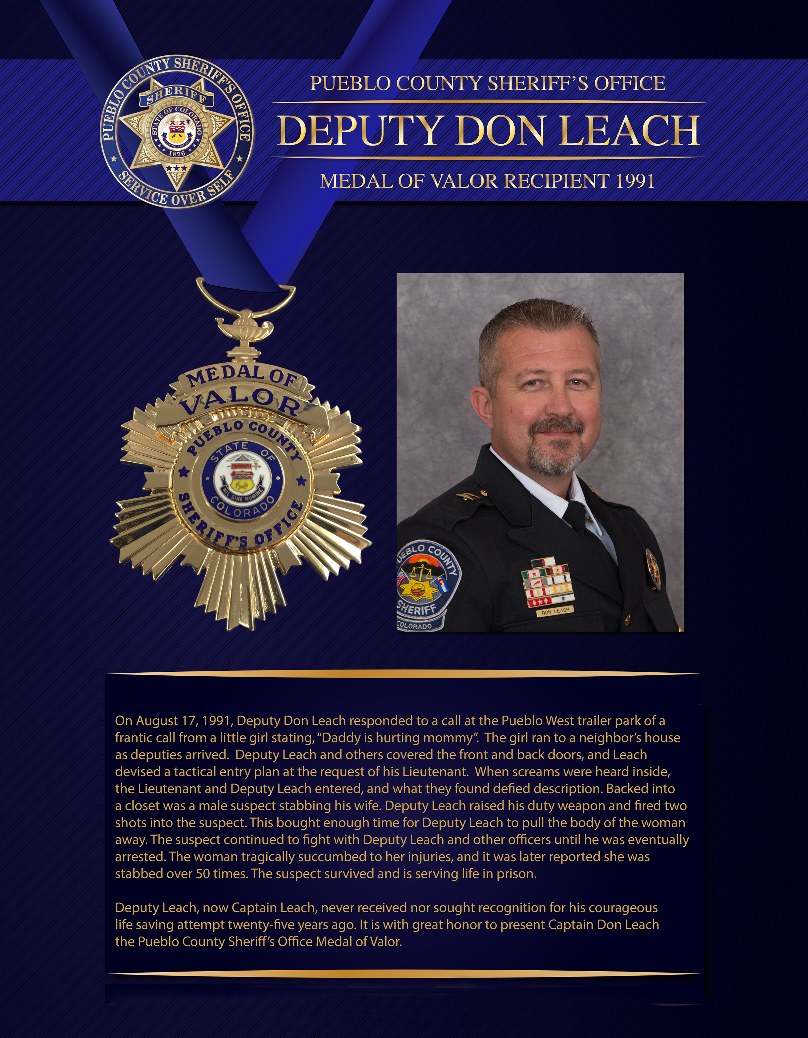Leach Medal of Valor
