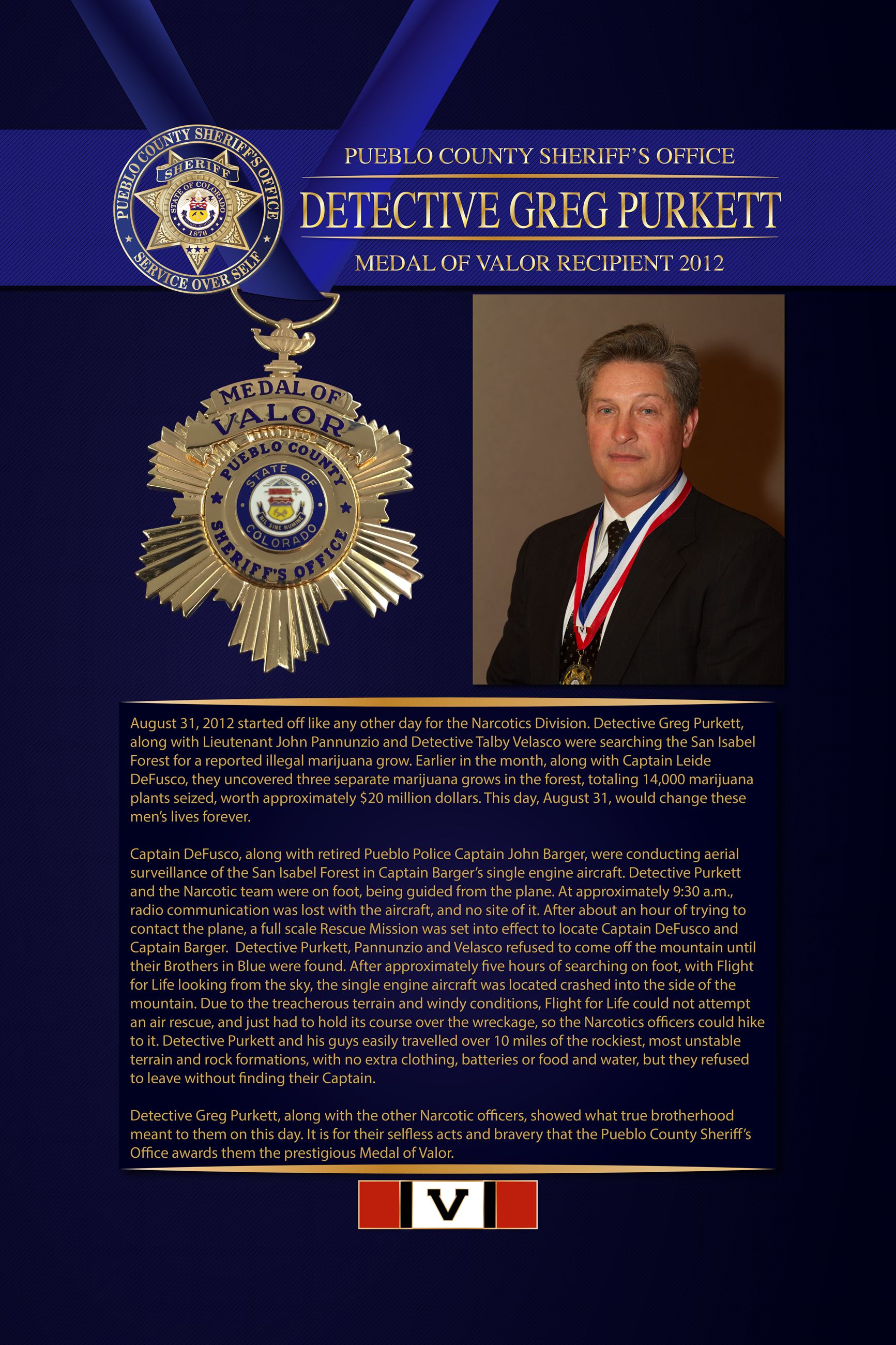 Purkett Medal of Valor