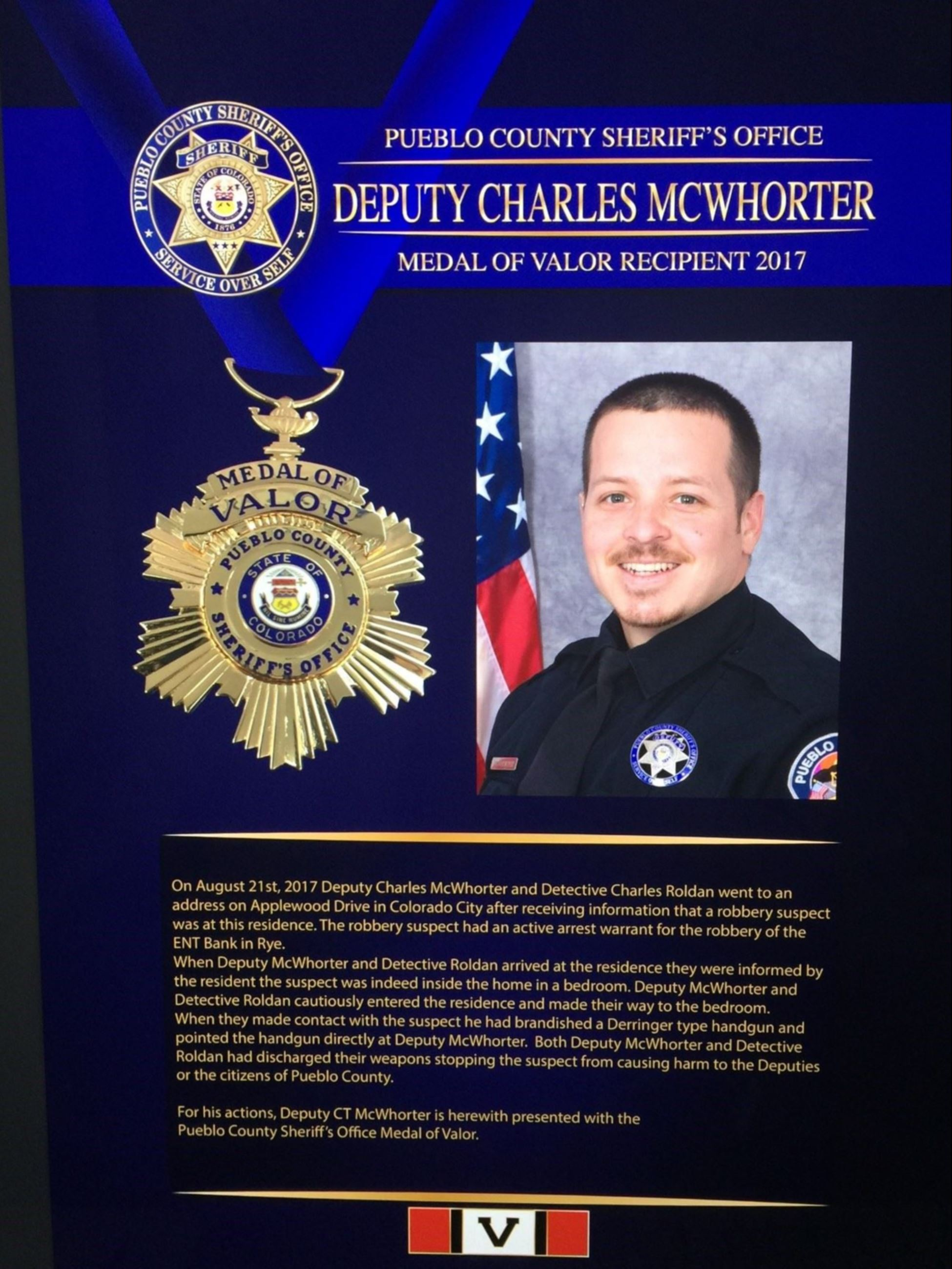 McWhorter Medal of Valor
